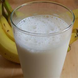 Icy Banana Milkshake