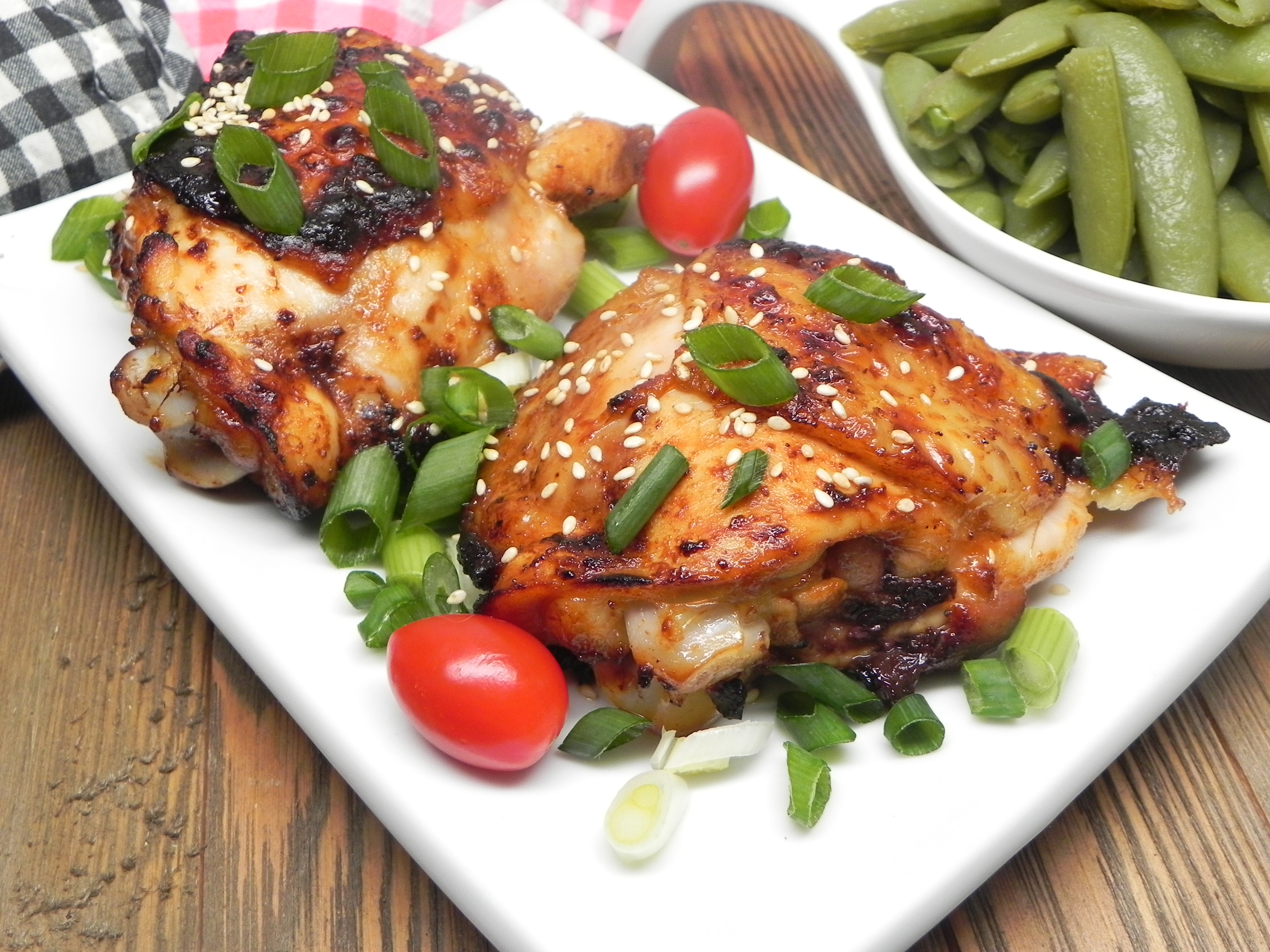 Air Fryer Sesame Chicken Thighs Recipe Allrecipes