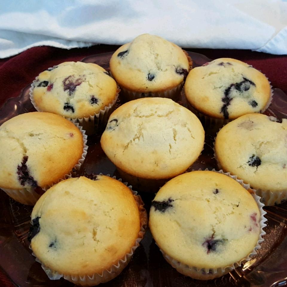 Awesome Blueberry Muffins ShyanneLynn