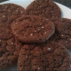 Chocolate Cookies with Fleur de Sel