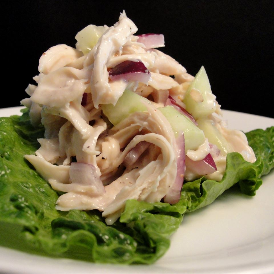 Simply Delicious Ranch Chicken Salad My Hot Southern Mess