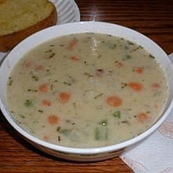 creamy potato with rosemary soup recipe