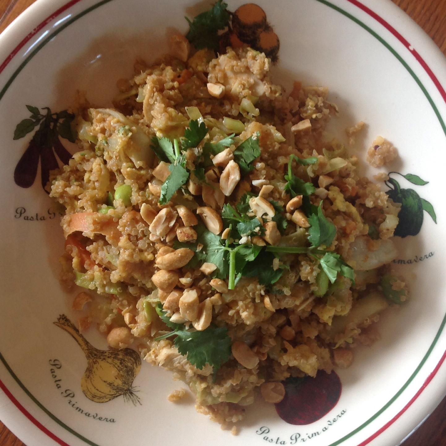 Pad Thai Quinoa Bowl Kristieg