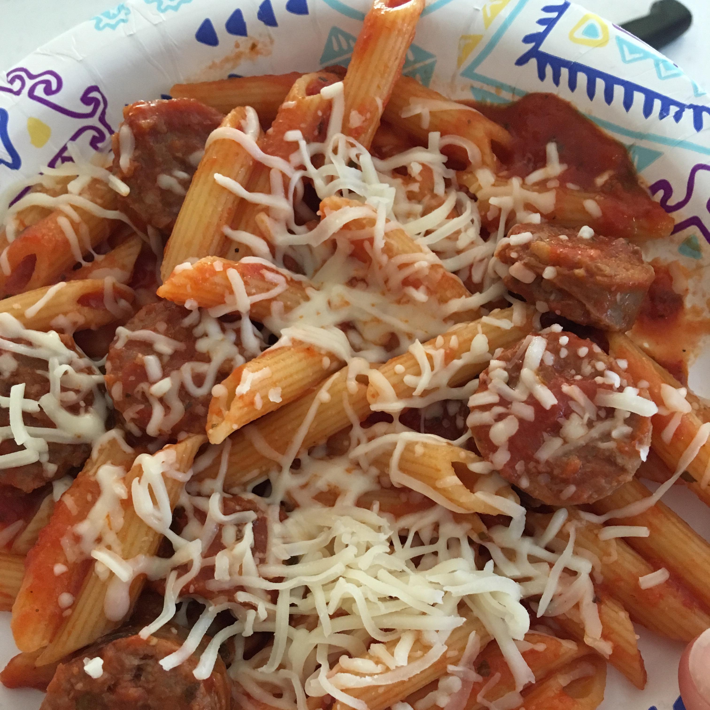 Johnsonville Italian Sausage Rigatoni Kat Bat