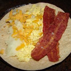 Bacon, Potato, and Egg Taco Ole GodivaGirl