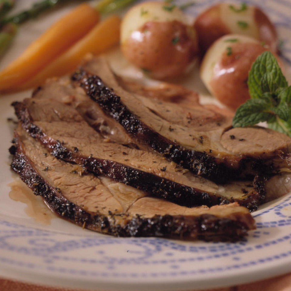 Balsamic-Marinated Leg of Lamb Diabetic Living Magazine