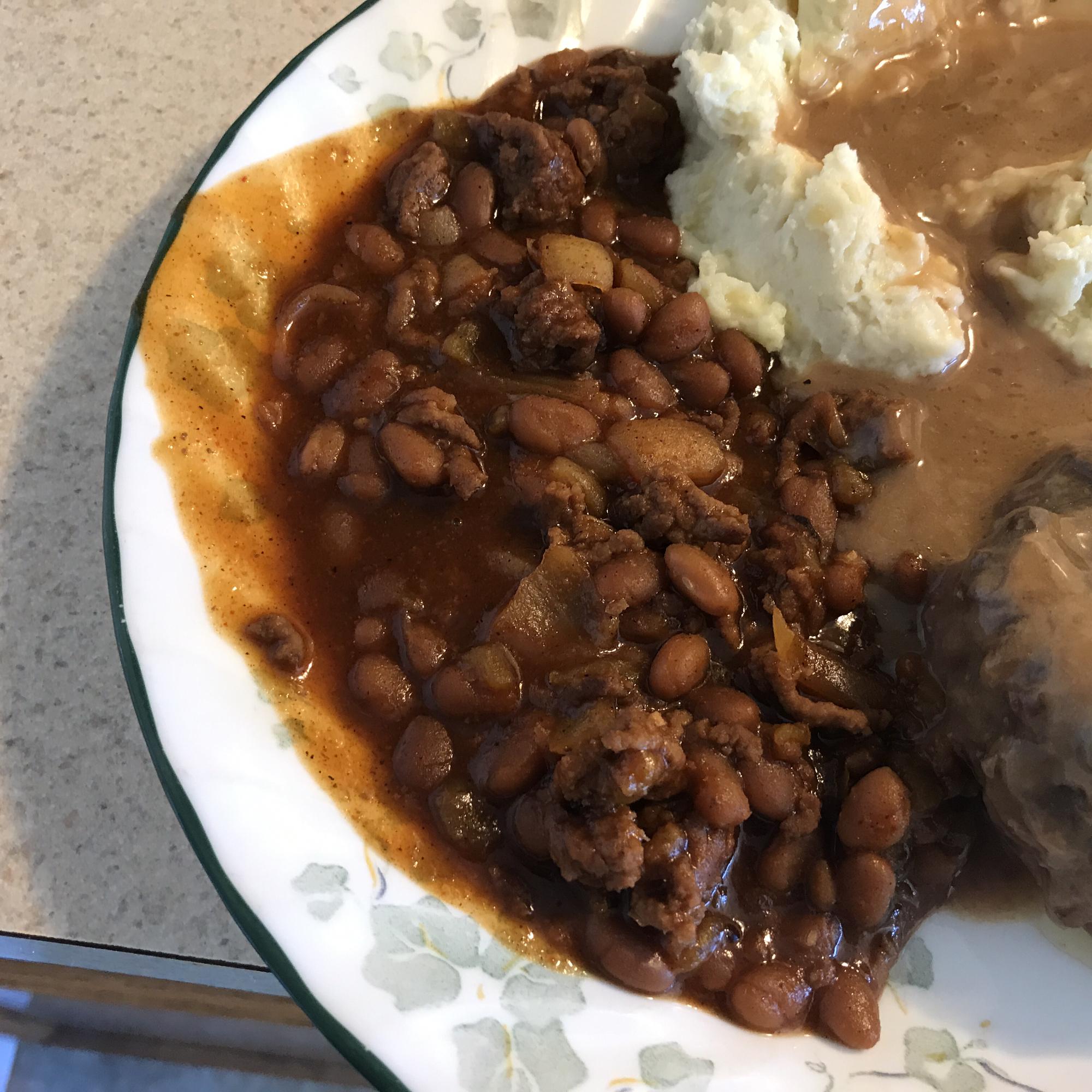Texas Cowboy Baked Beans Ryan