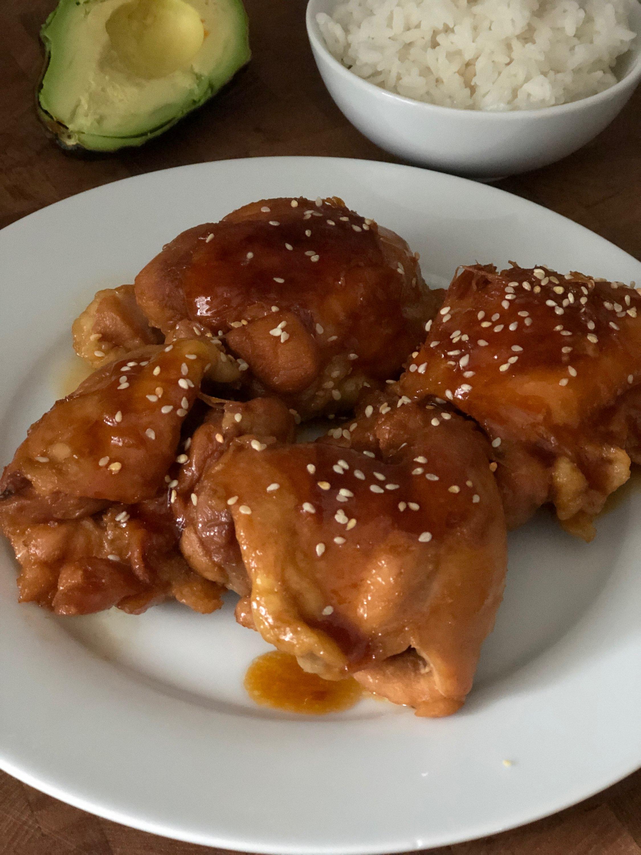 Instant Pot® Teriyaki Chicken Thighs Diana71