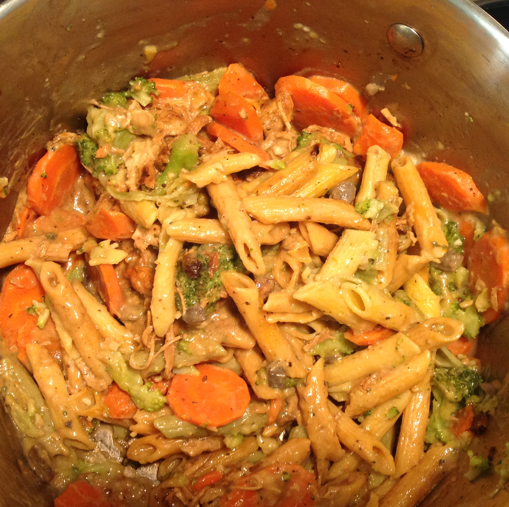Chicken and Pasta Primavera