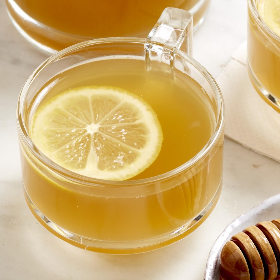 Green tea is loaded with antioxidants and has been shown to keep your blood sugar stable. We like it flavored with orange, lemon, and honey in this easy recipe.