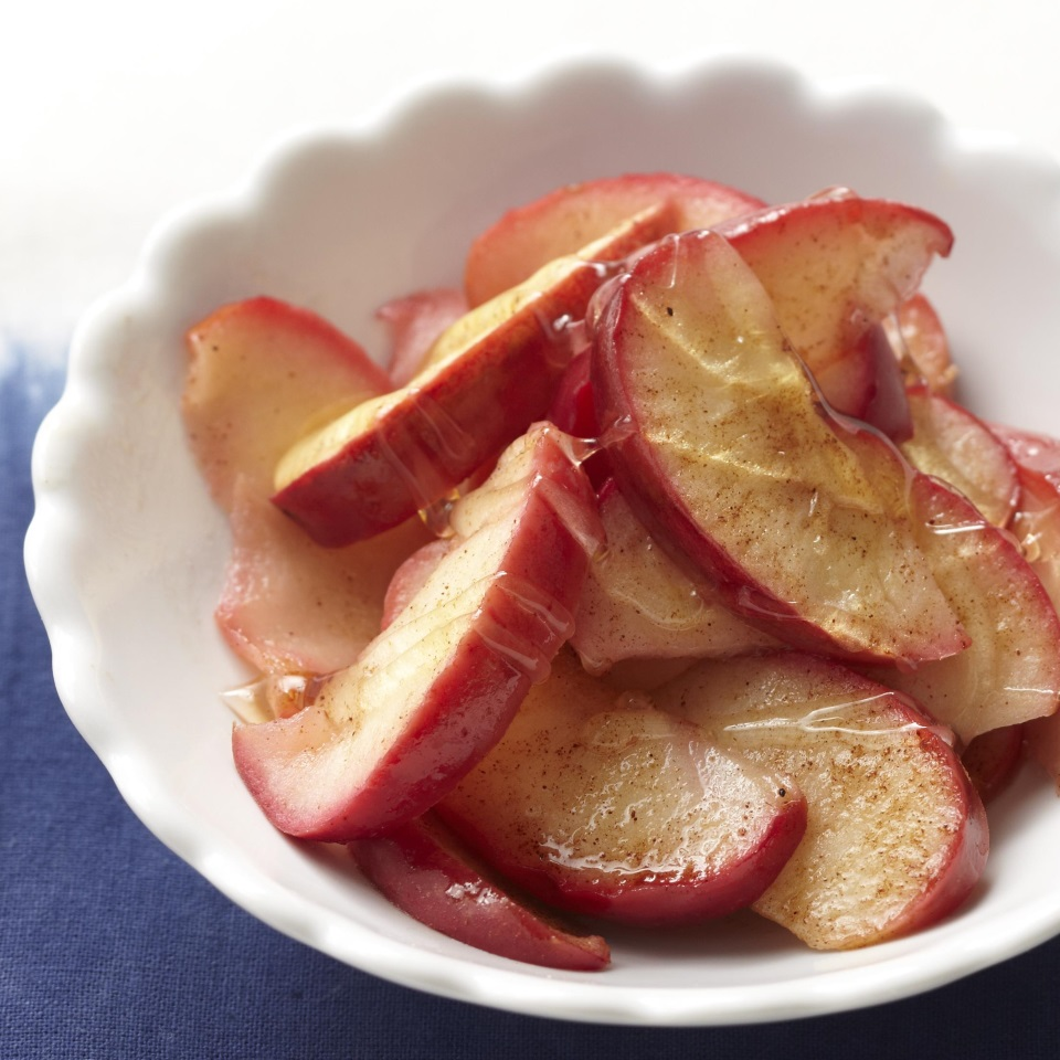 There's nothing better than the scent of cinnamon, nutmeg, and apples cooking on the stove. Try this 20-minute recipe the next time you're in need of a quick dessert! Source: Diabetic Living Magazine
