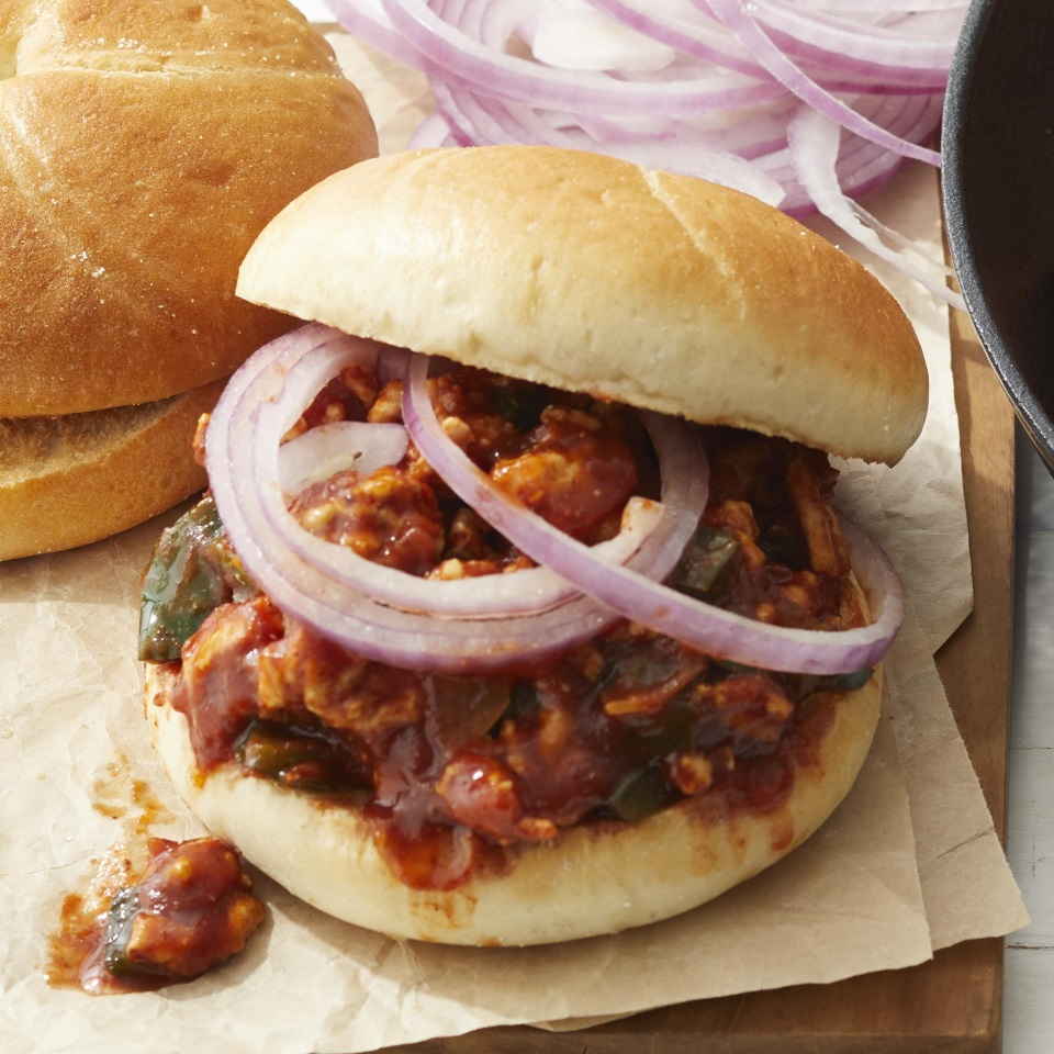 Cheesy Turkey Sloppy Joes Diabetic Living Magazine