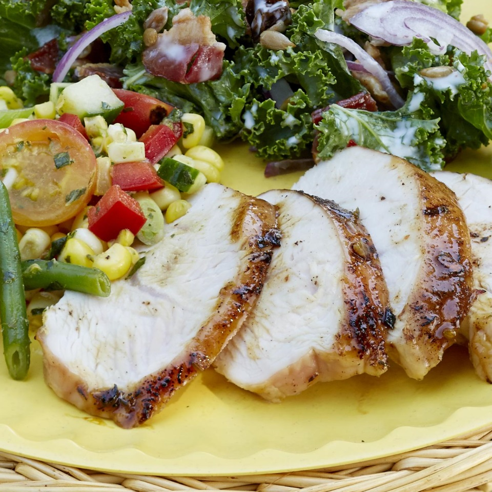 Jerk-Style Turkey Tenderloins with Orange Mojo Glaze Diabetic Living Magazine