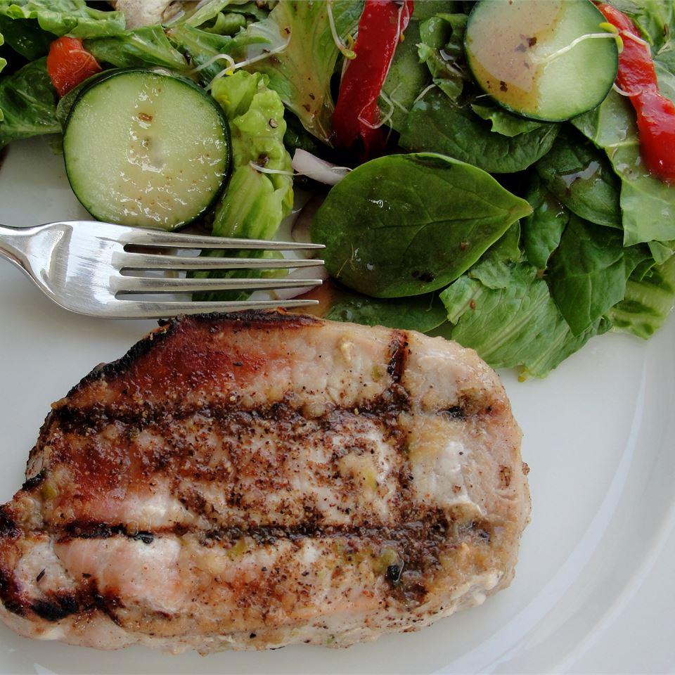 Caribbean Jerk Pork Chops Rock_lobster