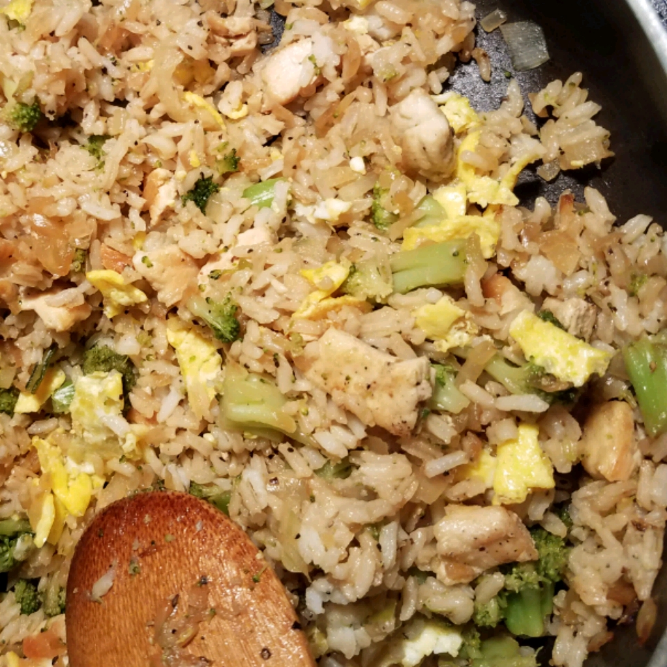 Chinese Chicken Fried Rice II Brecipes