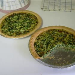 Spinach Quiche with Kid Appeal Joi