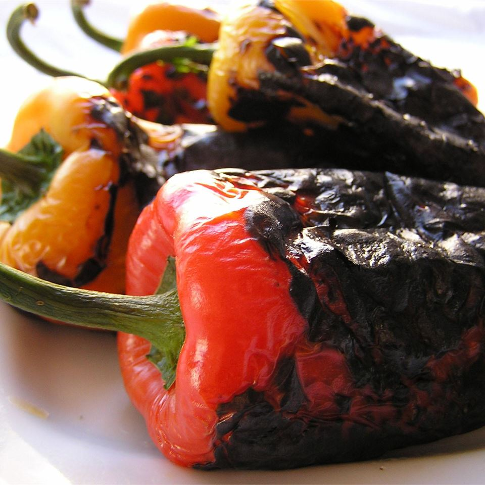 Easy Roasted Peppers deepoopsie
