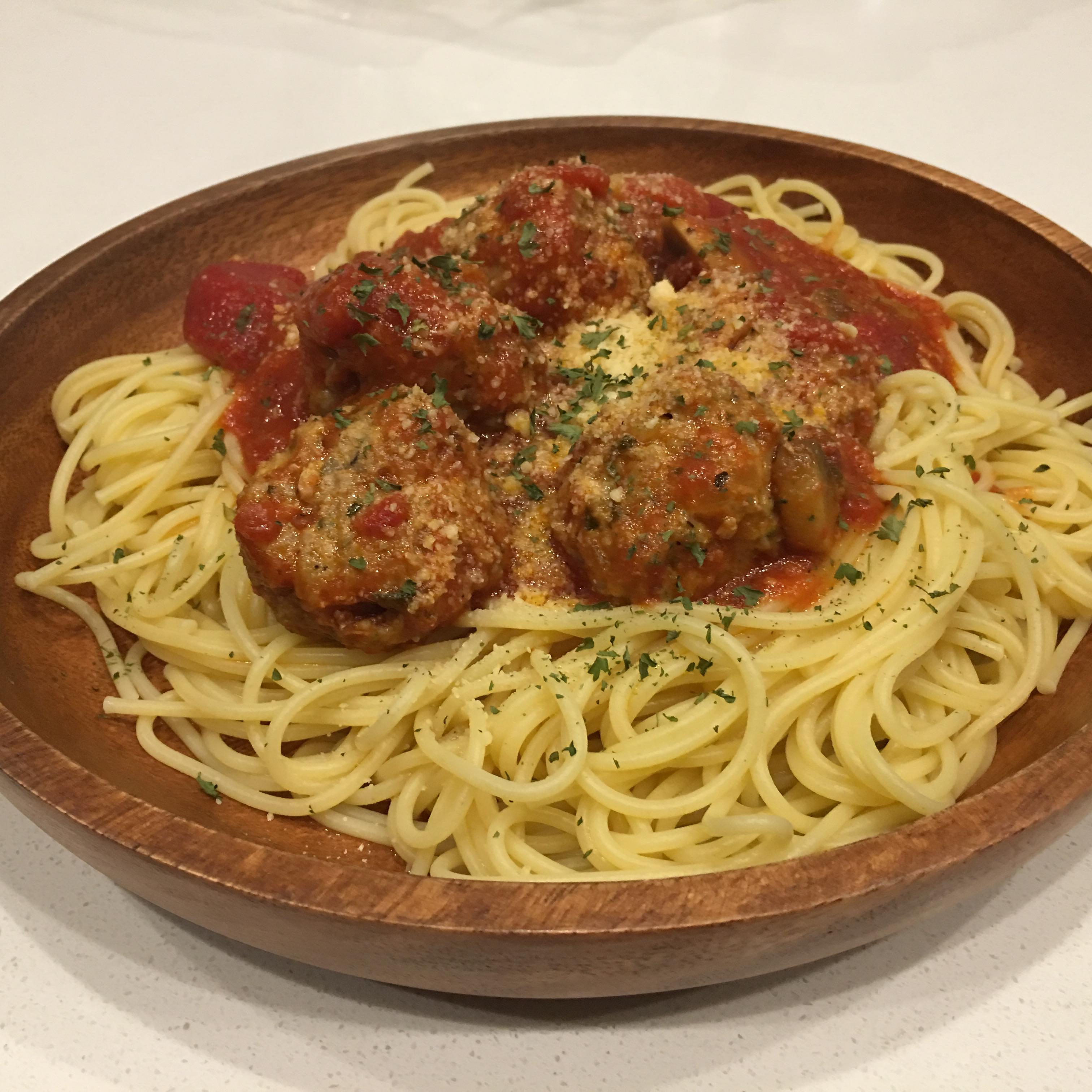 Italian Spaghetti Sauce with Meatballs kumambo