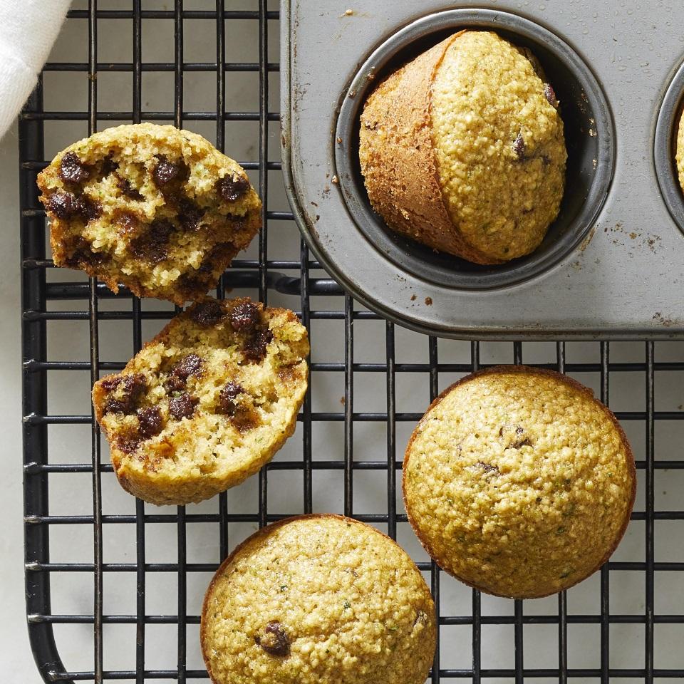 Flourless Blender Zucchini Muffins Trusted Brands