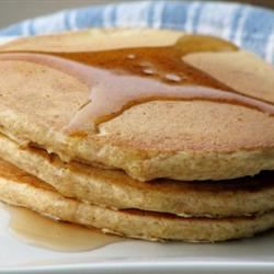 Whole Wheat Pancakes mominml