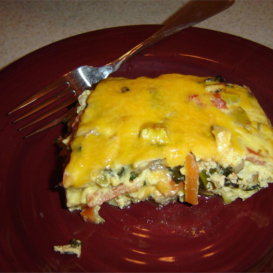 Eggy Veggie Bake John and Leann Matlik