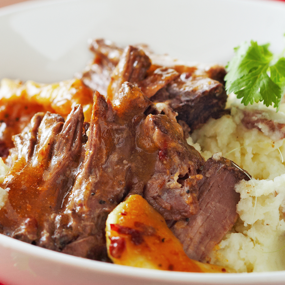 Pot Roast with Chipotle-Fruit Sauce Diabetic Living Magazine