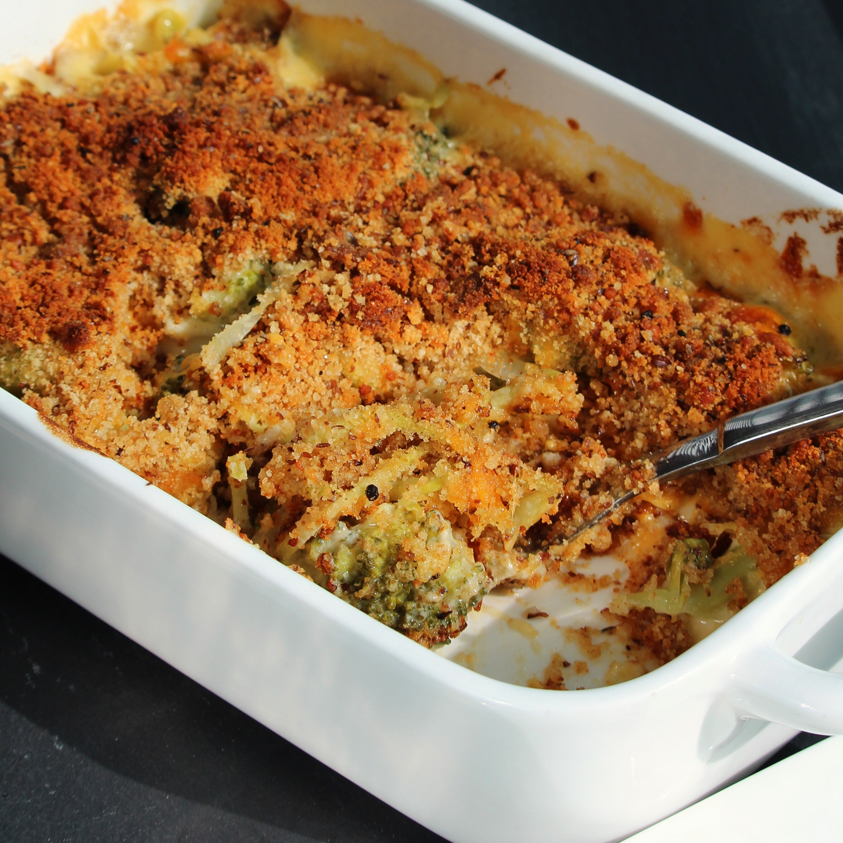 Broccoli Crumble