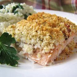 Panko Parmesan Salmon Dianne