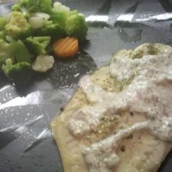 Tilapia with Creamy Sauce Sclang05