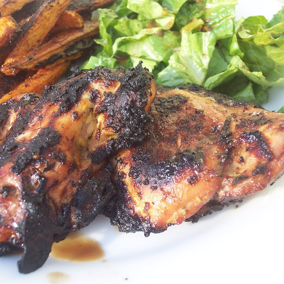 Grilled Caribbean Chicken Breasts Robyn Webb