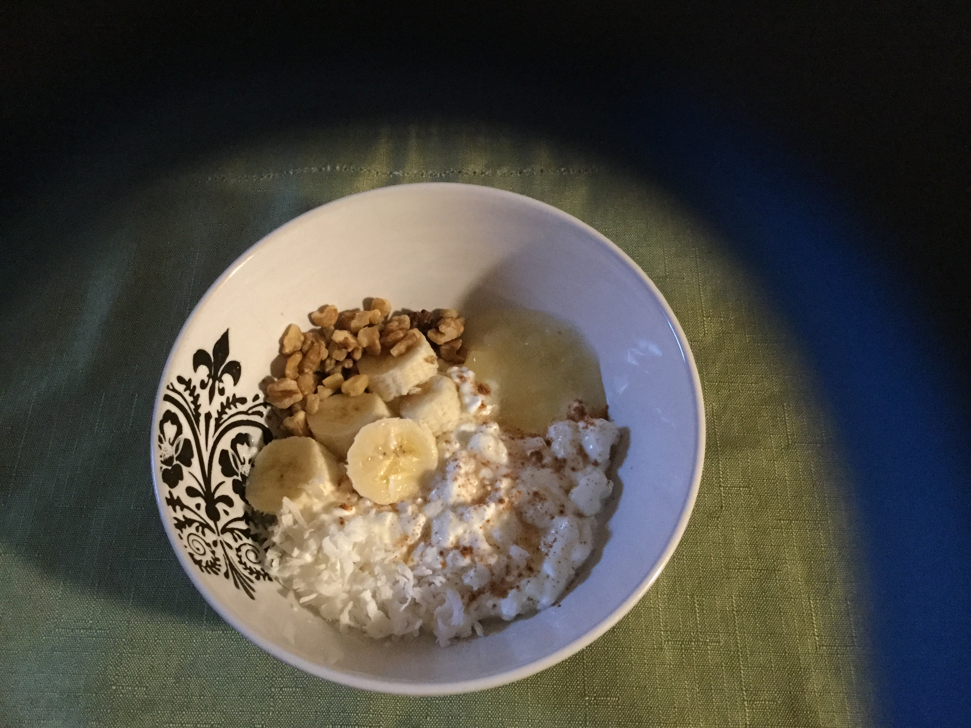 Hummingbird Cake Cottage Cheese Bowl TeaLover767