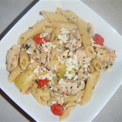 Greek Penne and Chicken jennilopez