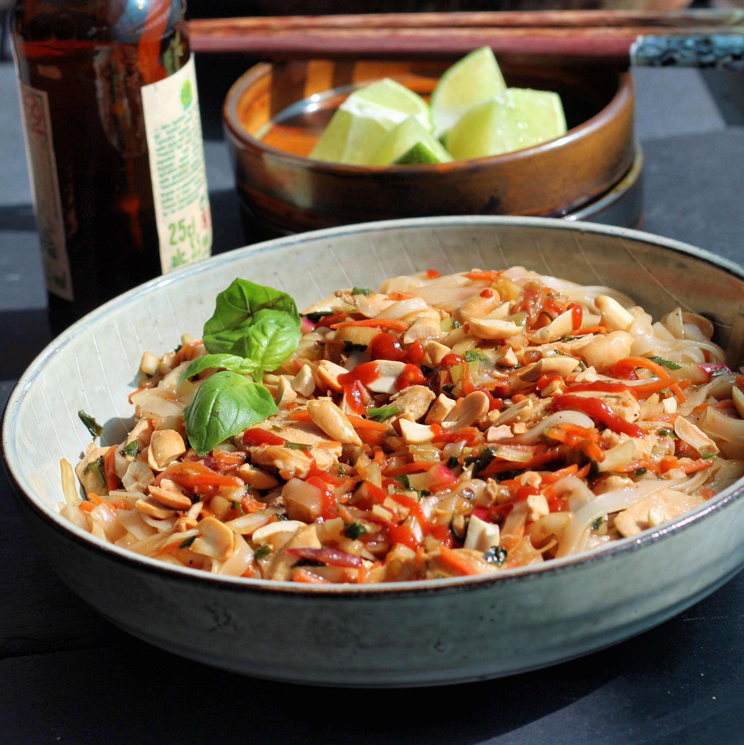 Chicken Pad Thai Karen Barris Calabro