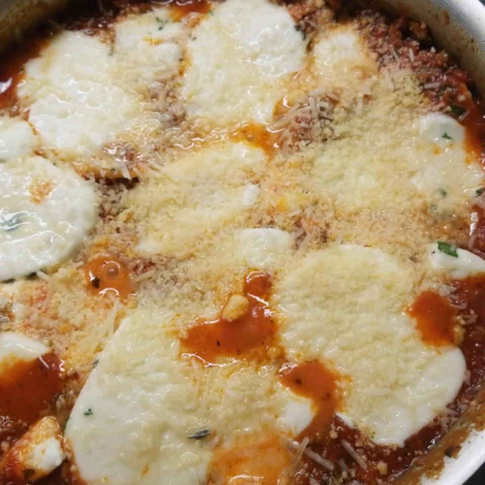 Skillet Spinach Lasagna ruth patton