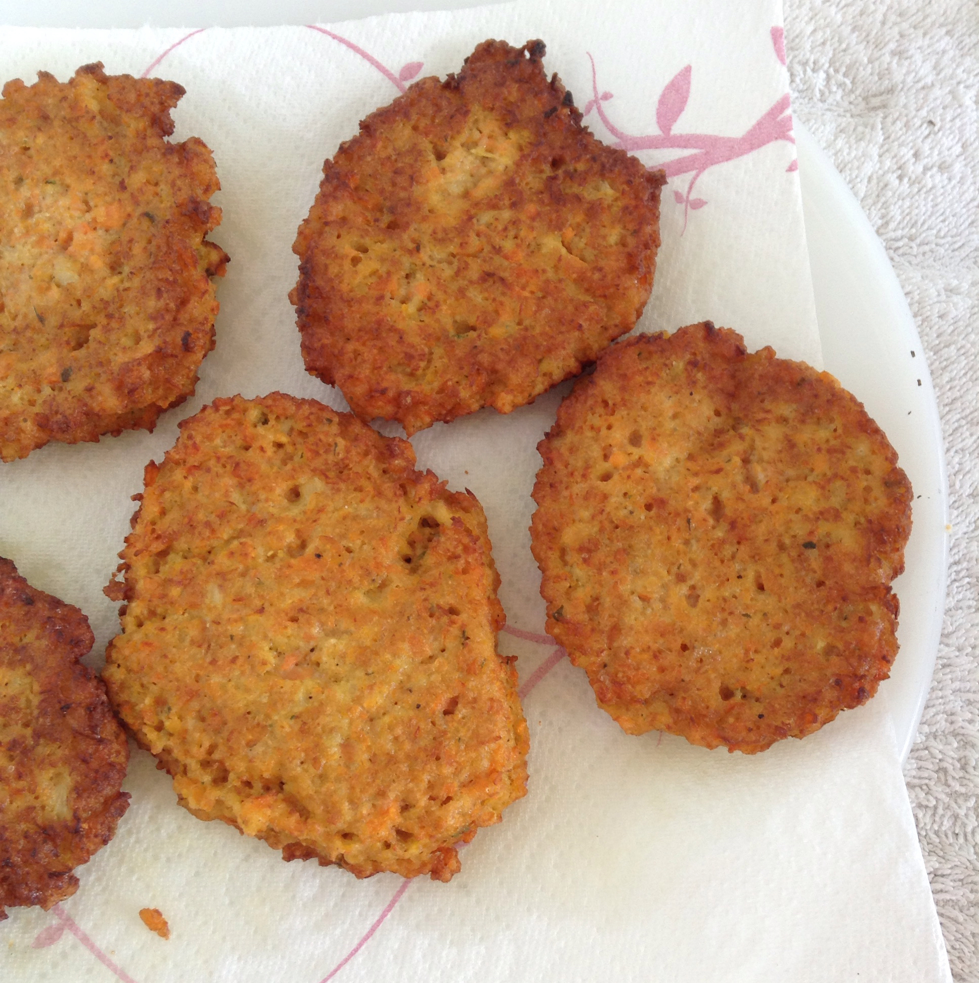 Carrot Patties Wendy G Cortesia