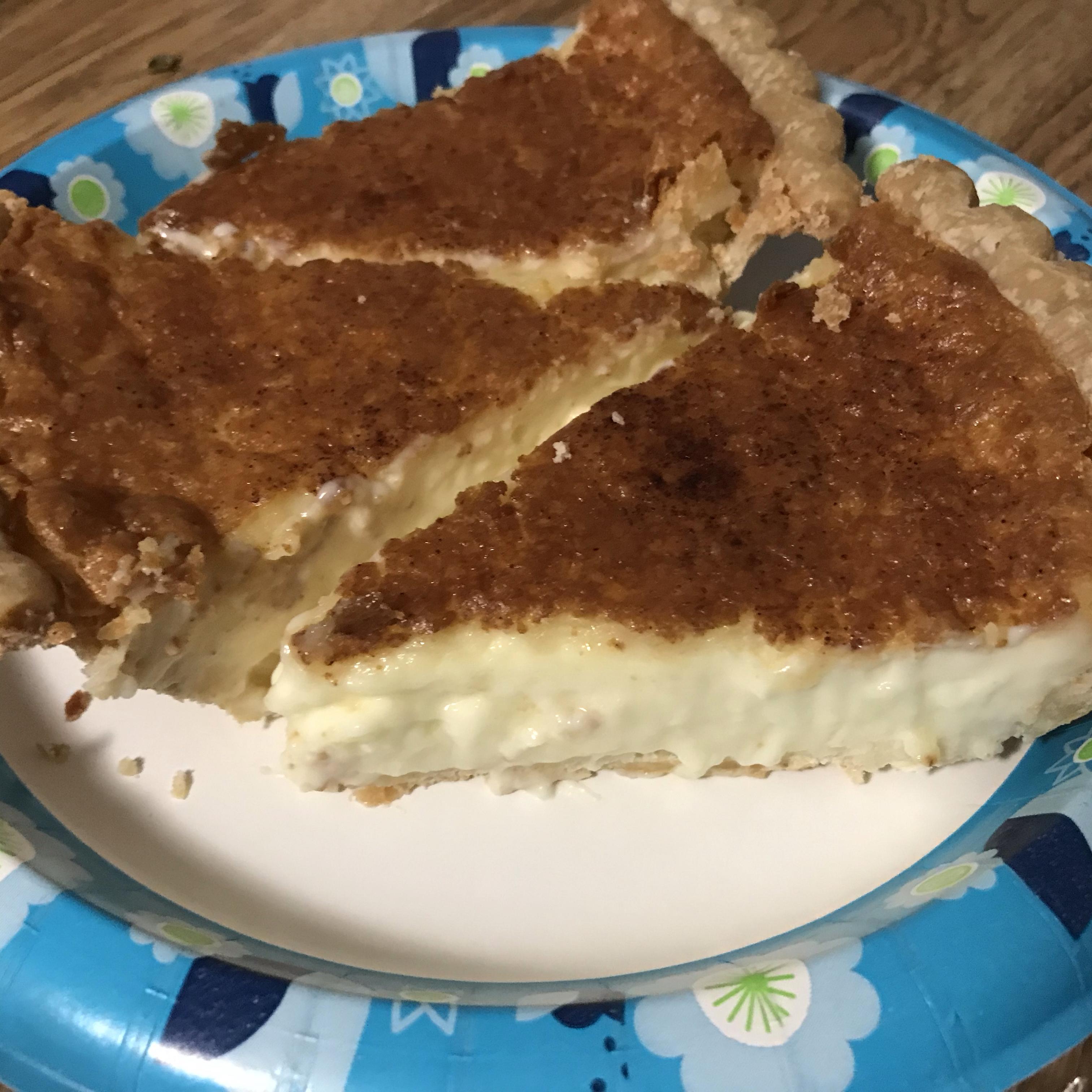 Old Fashioned Cream Pie
