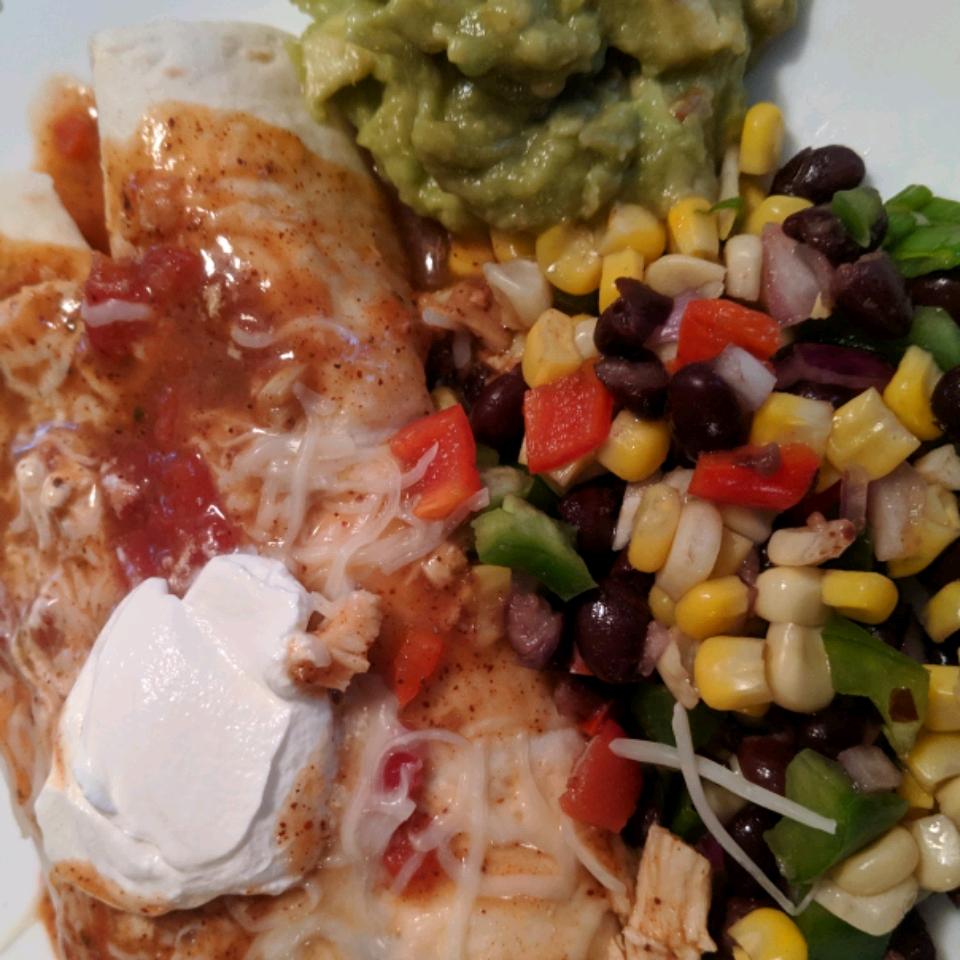 Super Easy Slow Cooker Chicken Enchilada Meat