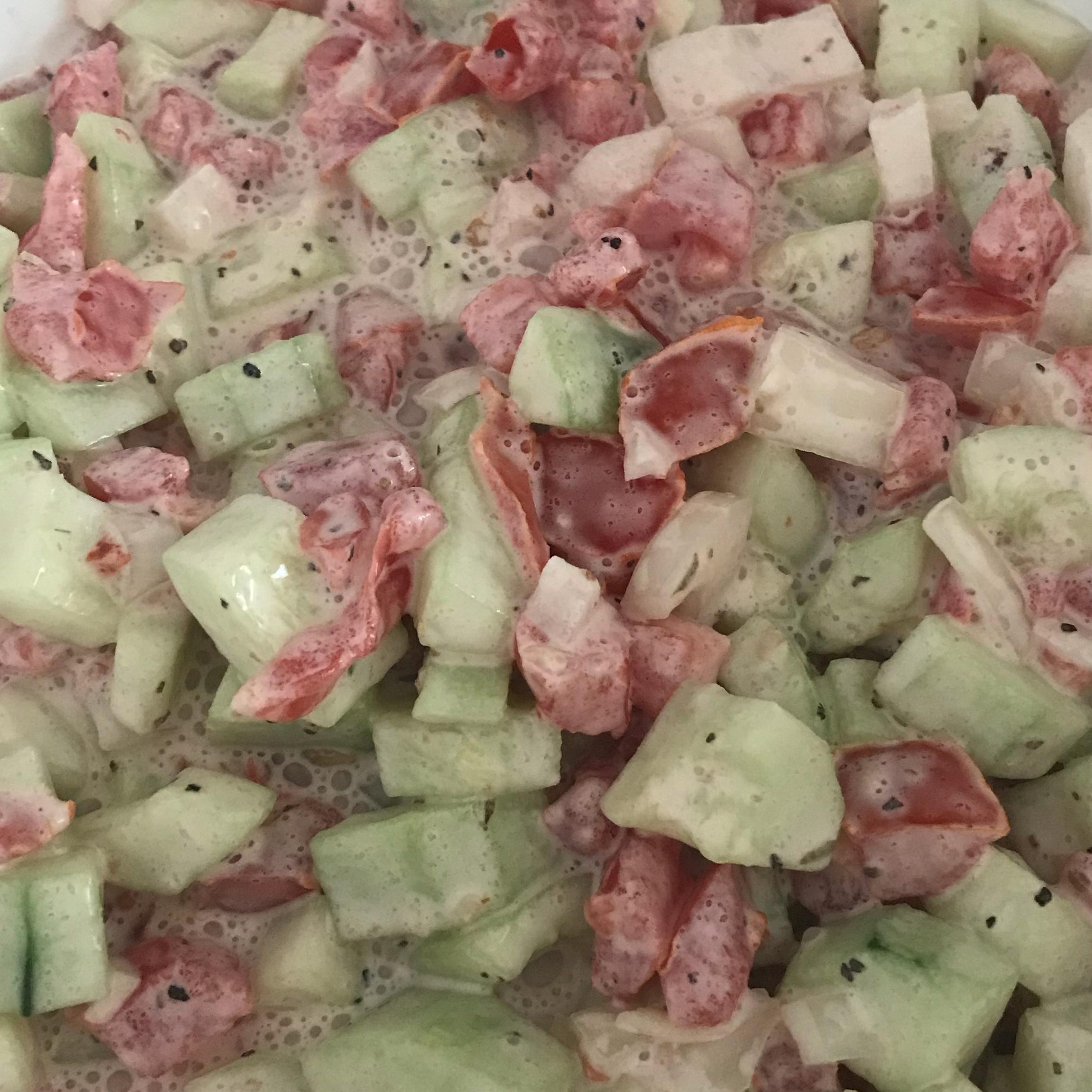 Tissy's Cucumber Salad Lilah Vidlund