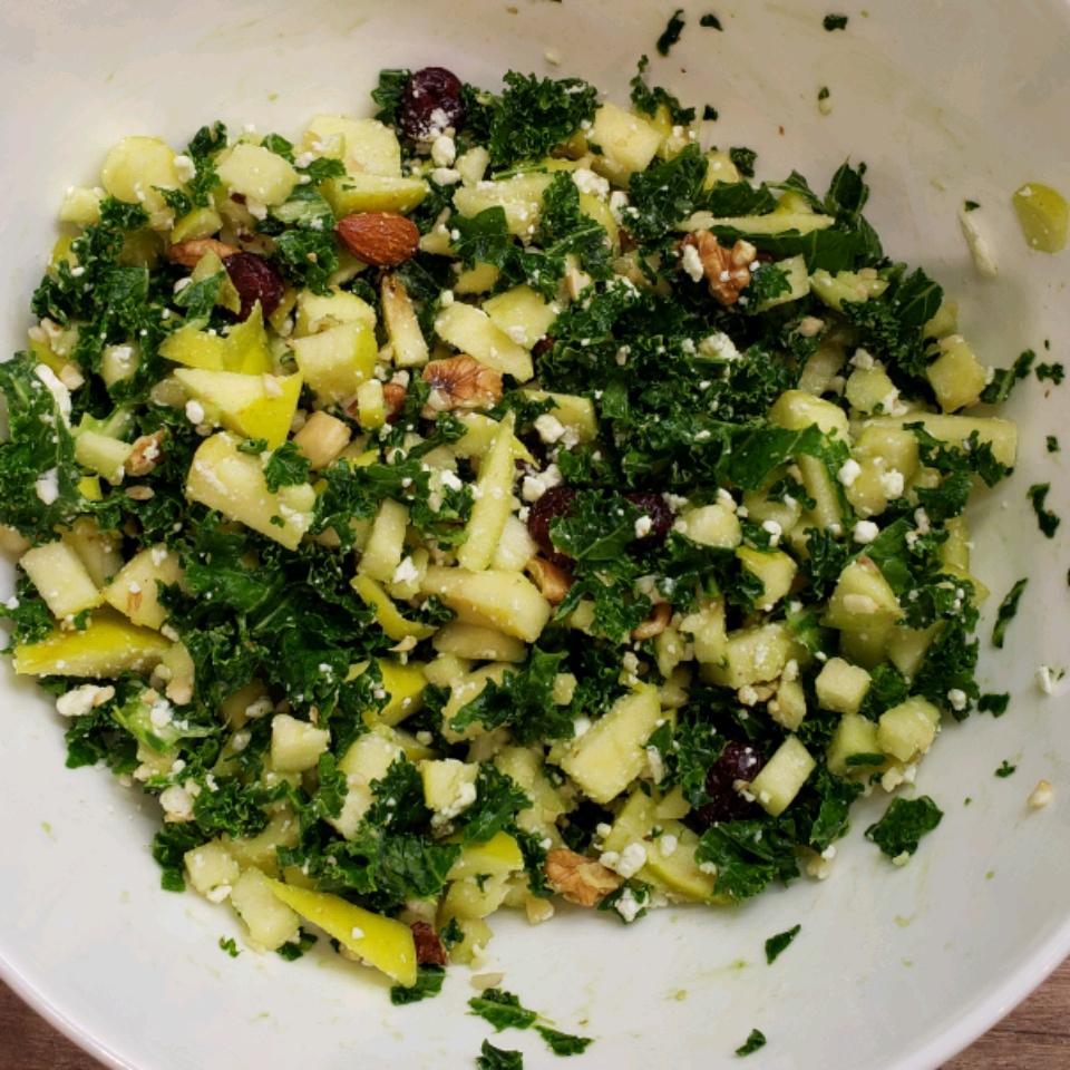 Kale and Feta Salad TAVS SENCIS