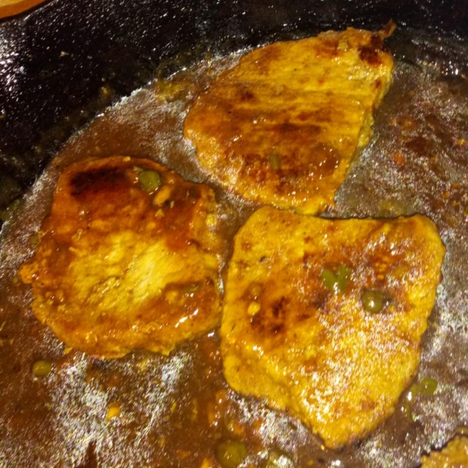 Lemony Pork Piccata Jack Yufer