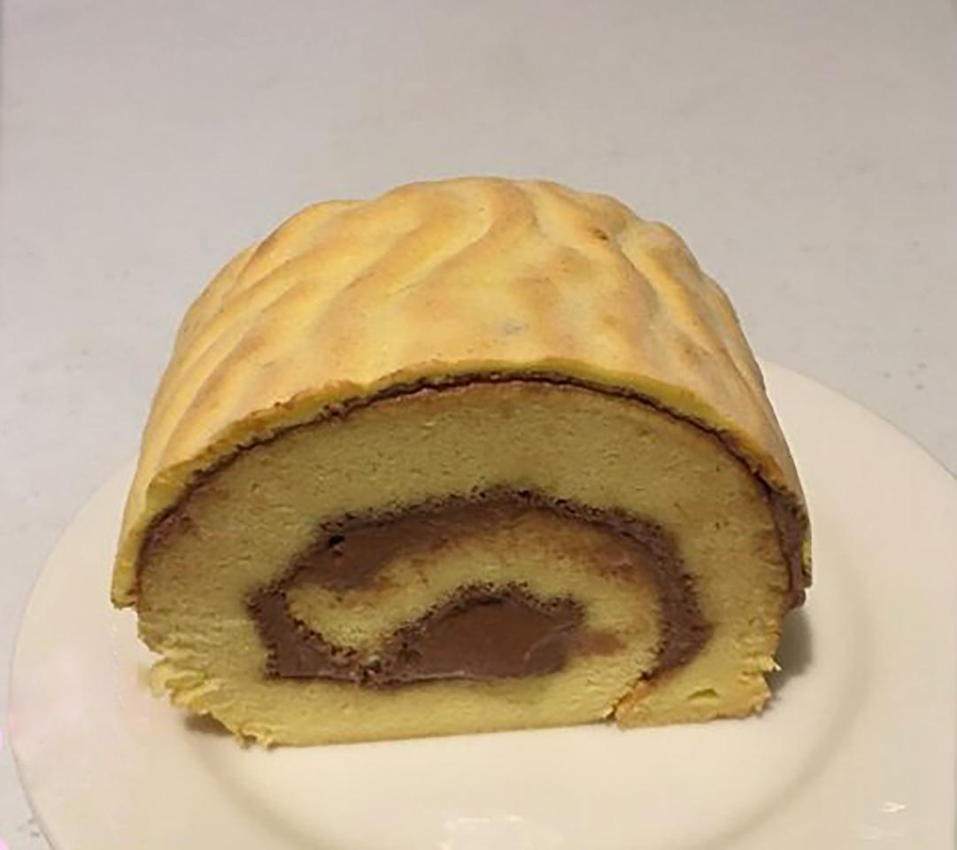 Tiger Skin Chiffon Cake Roll