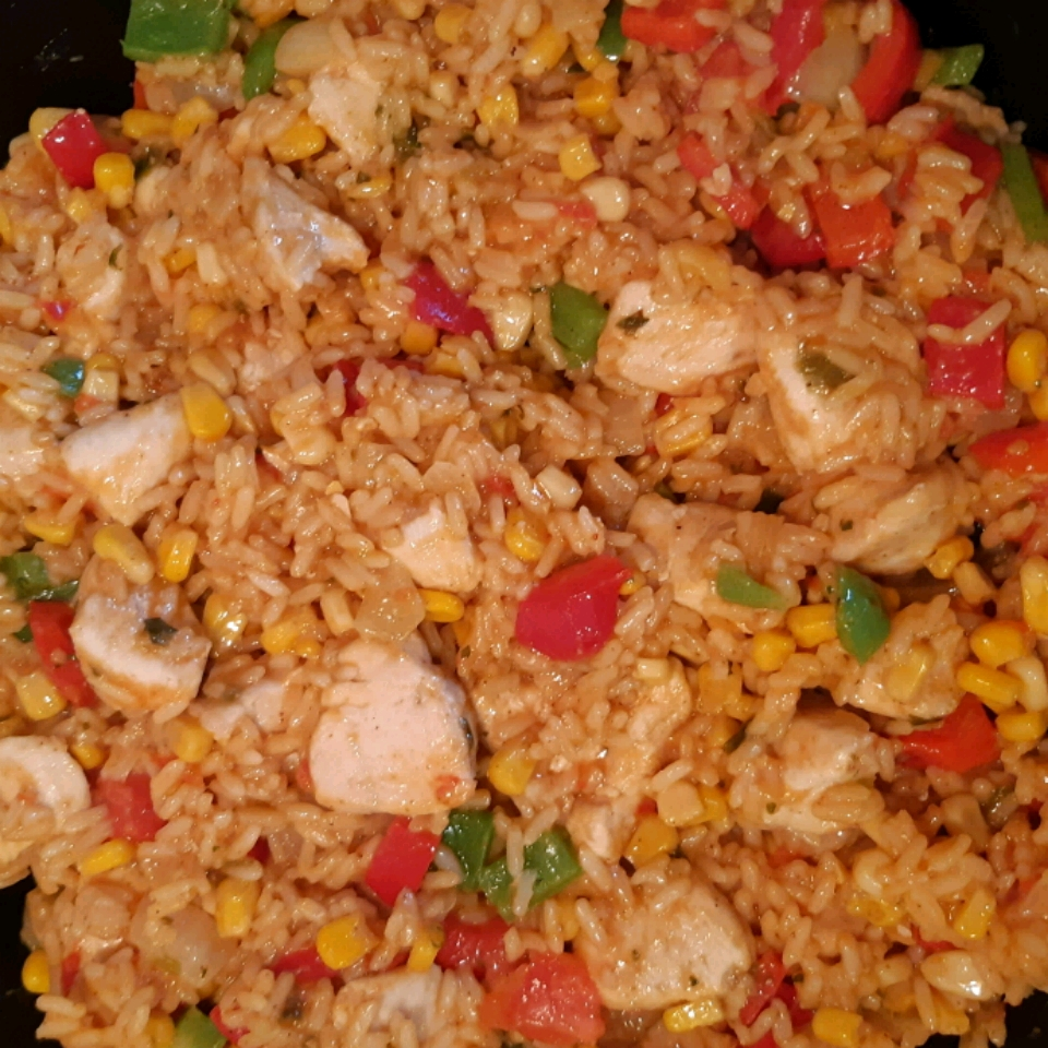 Texan Chicken and Rice Casserole Tammie
