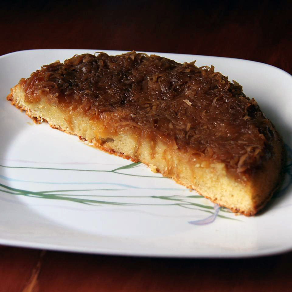 Cream of Coconut Pineapple Upside-Down Cake AllrecipesPhoto