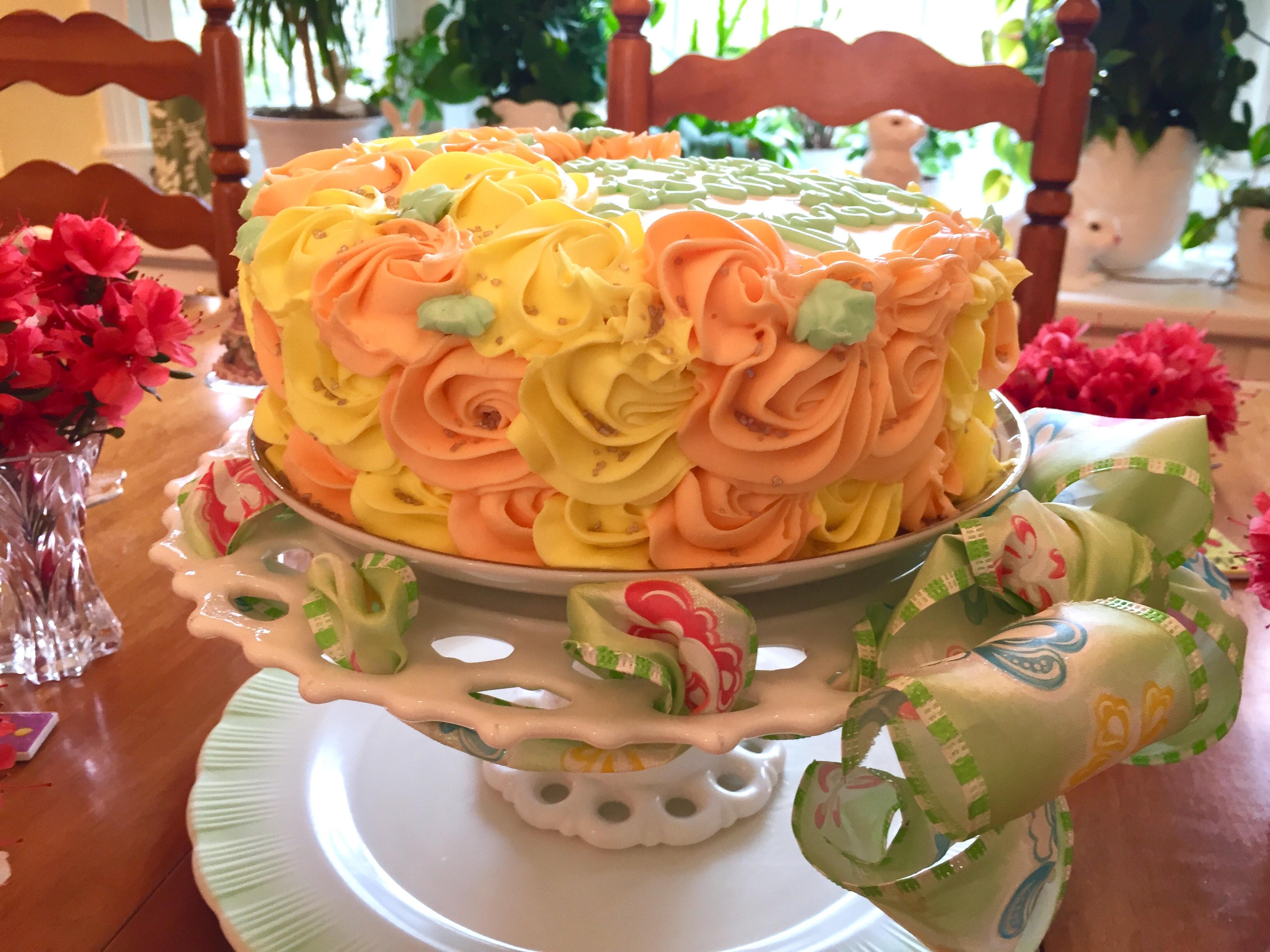 Rainbow Citrus Cake Frances Godwin