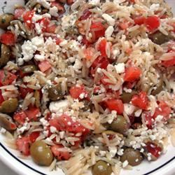Orzo and Tomato Salad with Feta Cheese MBKRH