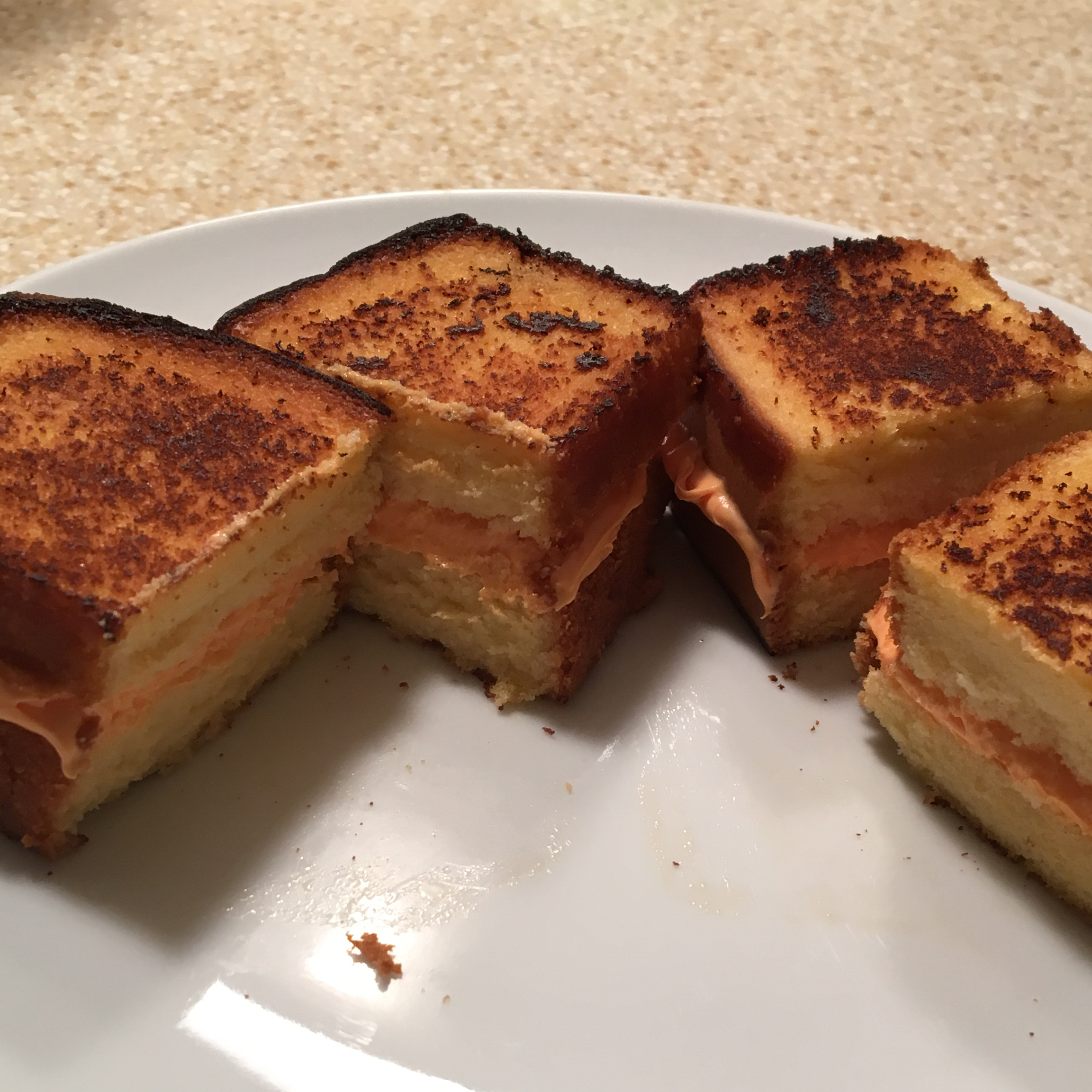 April Fool's Grilled Cheese Sandwich Melissa Grafe Wilcox