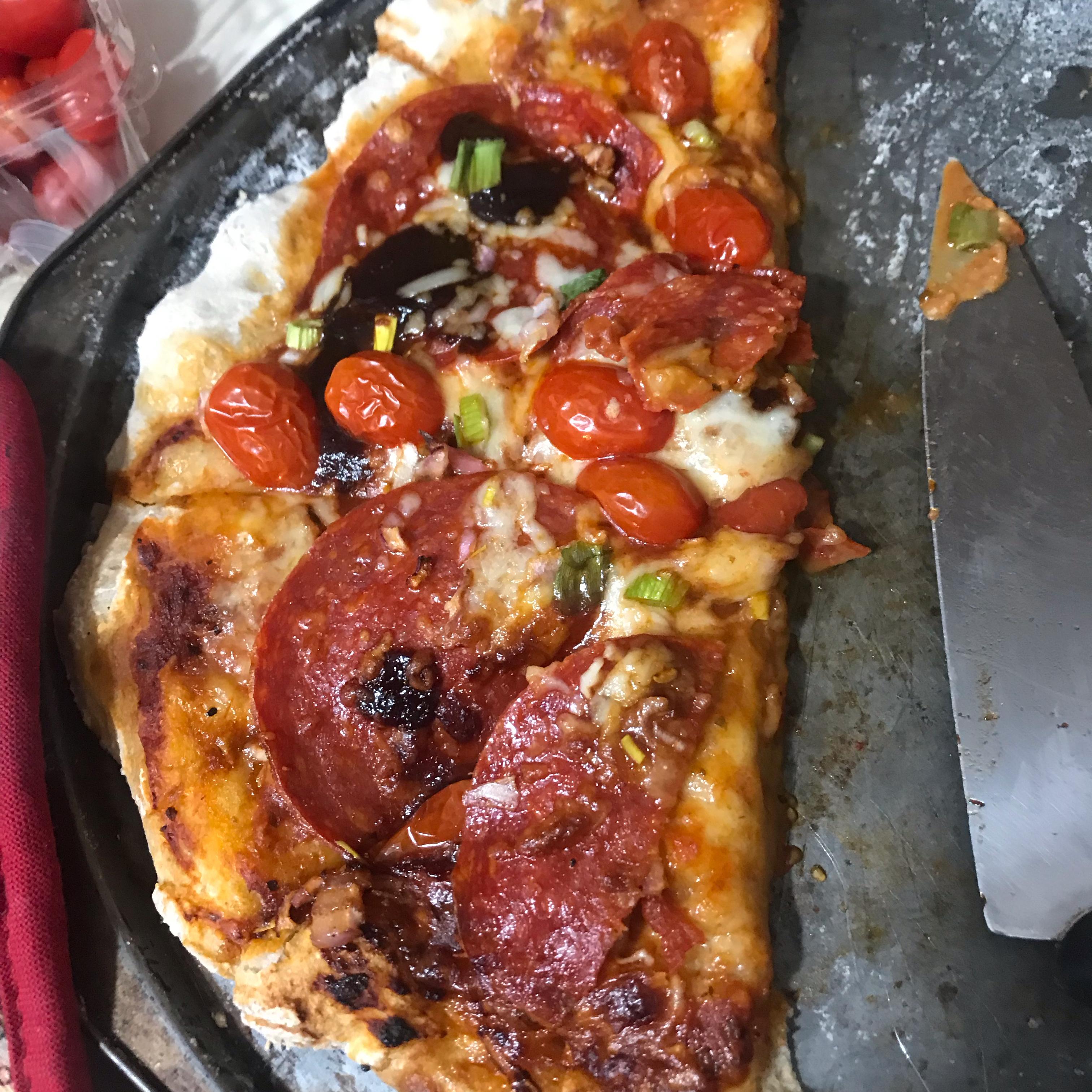 BBQ Pork Pizza Laura Thoren