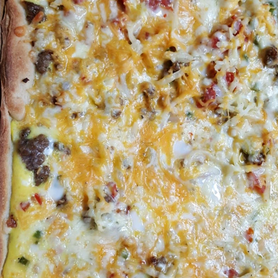 Breakfast Pizza II Betty Blanchette