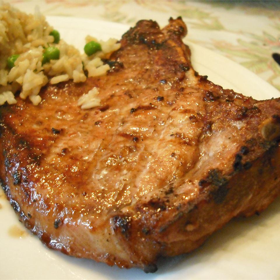 Marinated Spicy Pork Chops