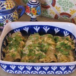 Potato and Bean Enchiladas yumyum